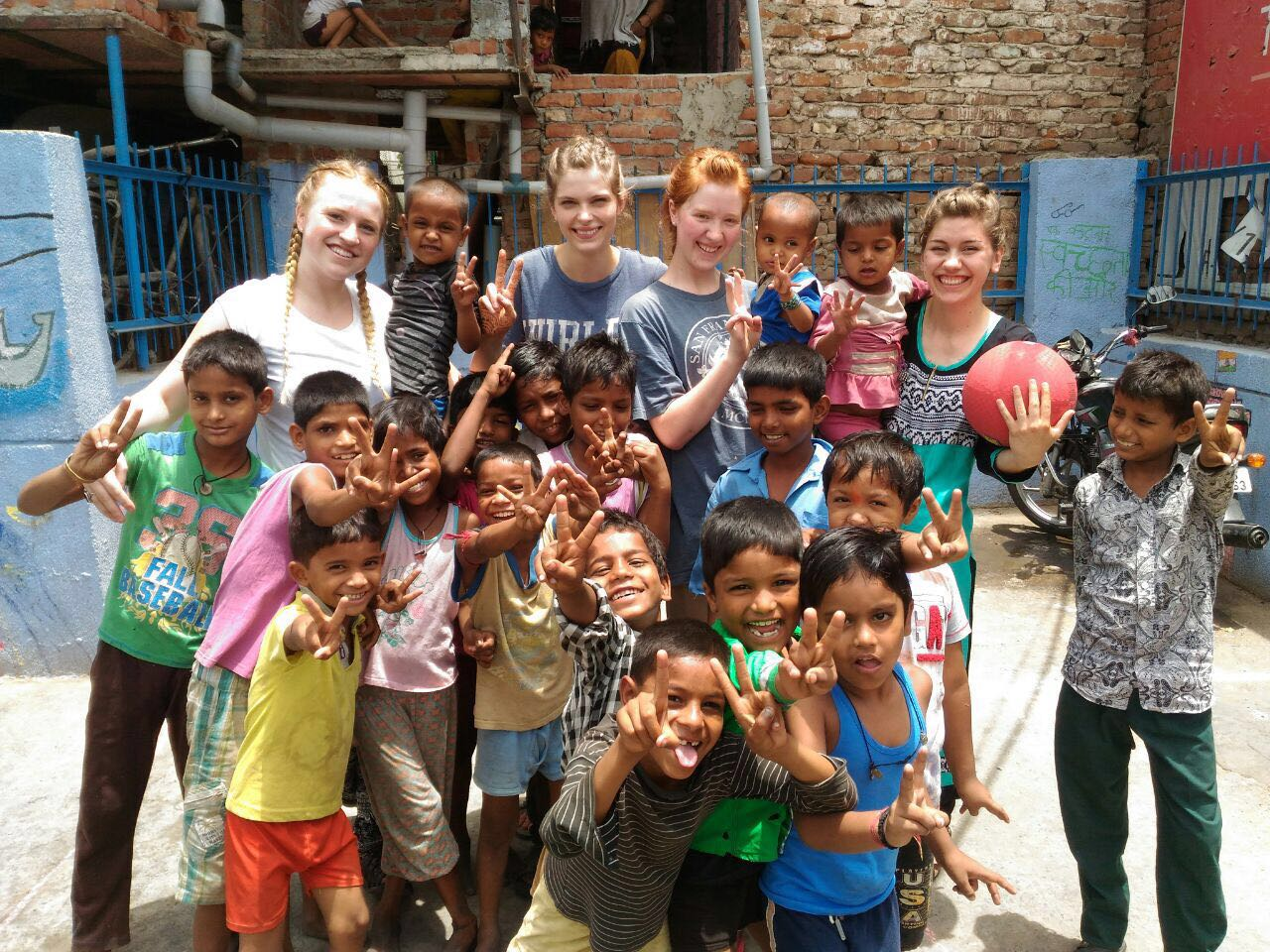 Volunteering with Street Children in Delhi