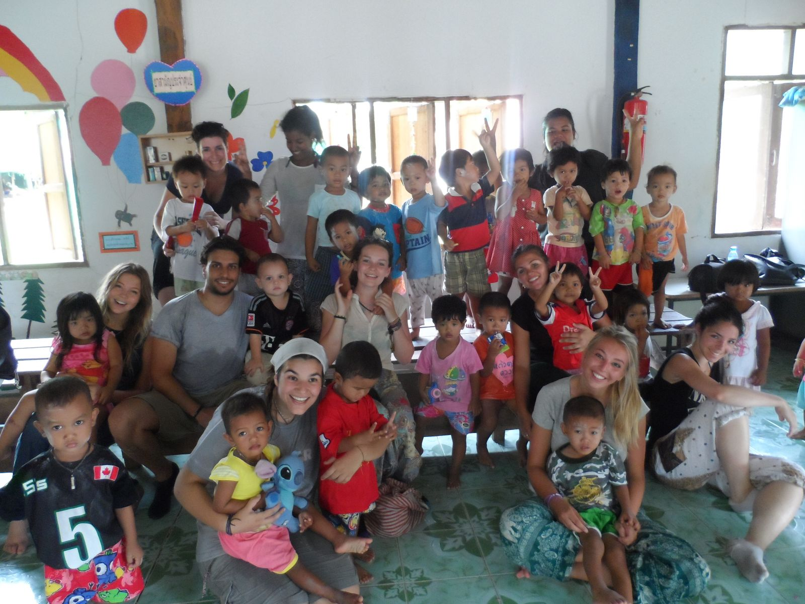 summer volunteer program thailand