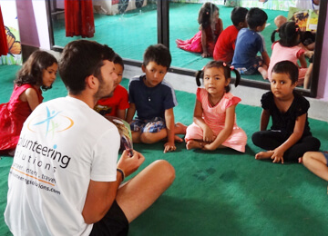voluntariado em kathmandu nepal