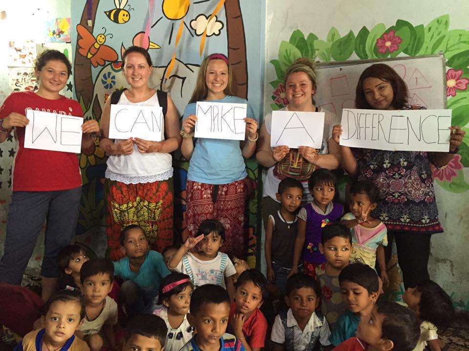 Viagens de caridade no exterior