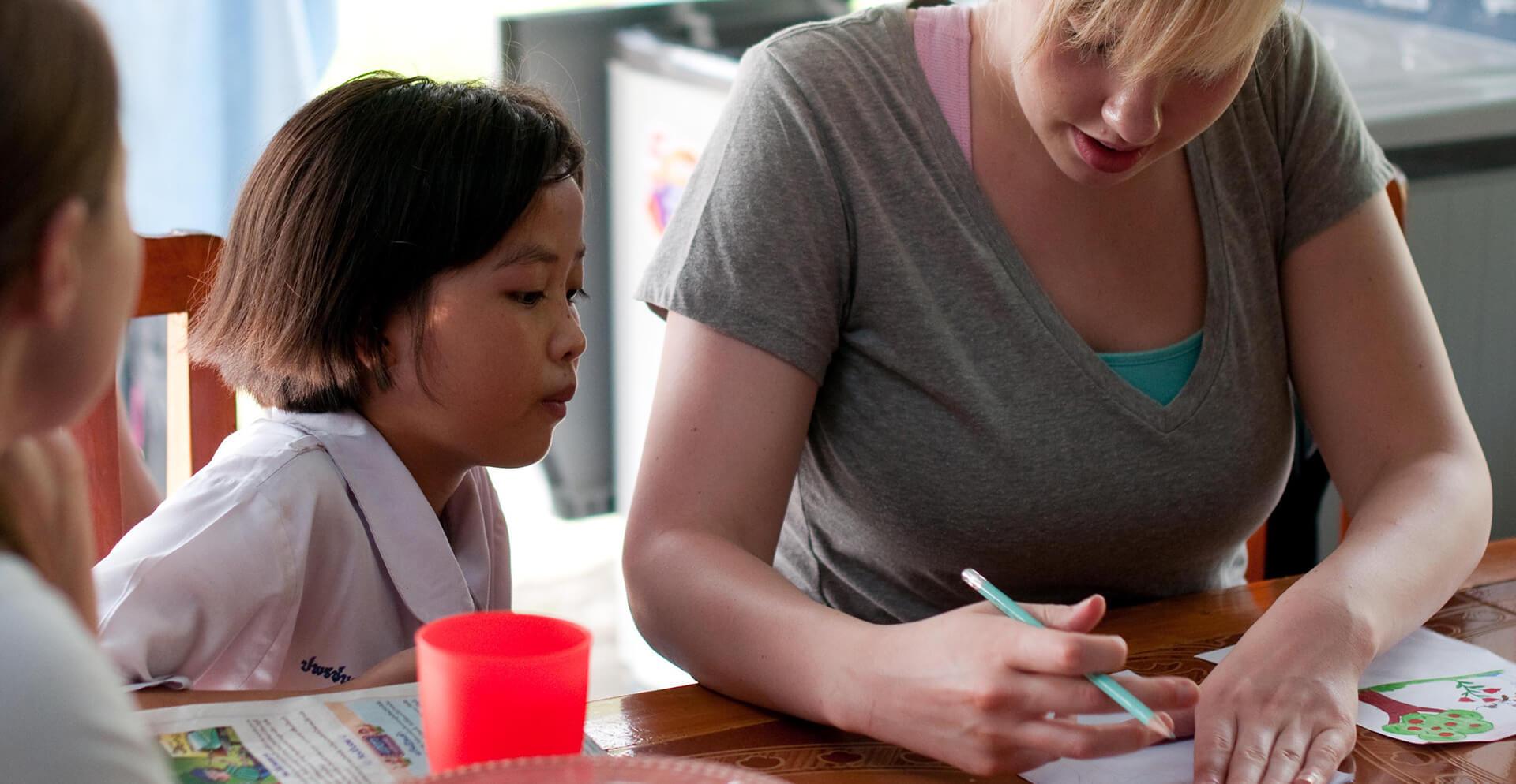 Voluntariado en Asia