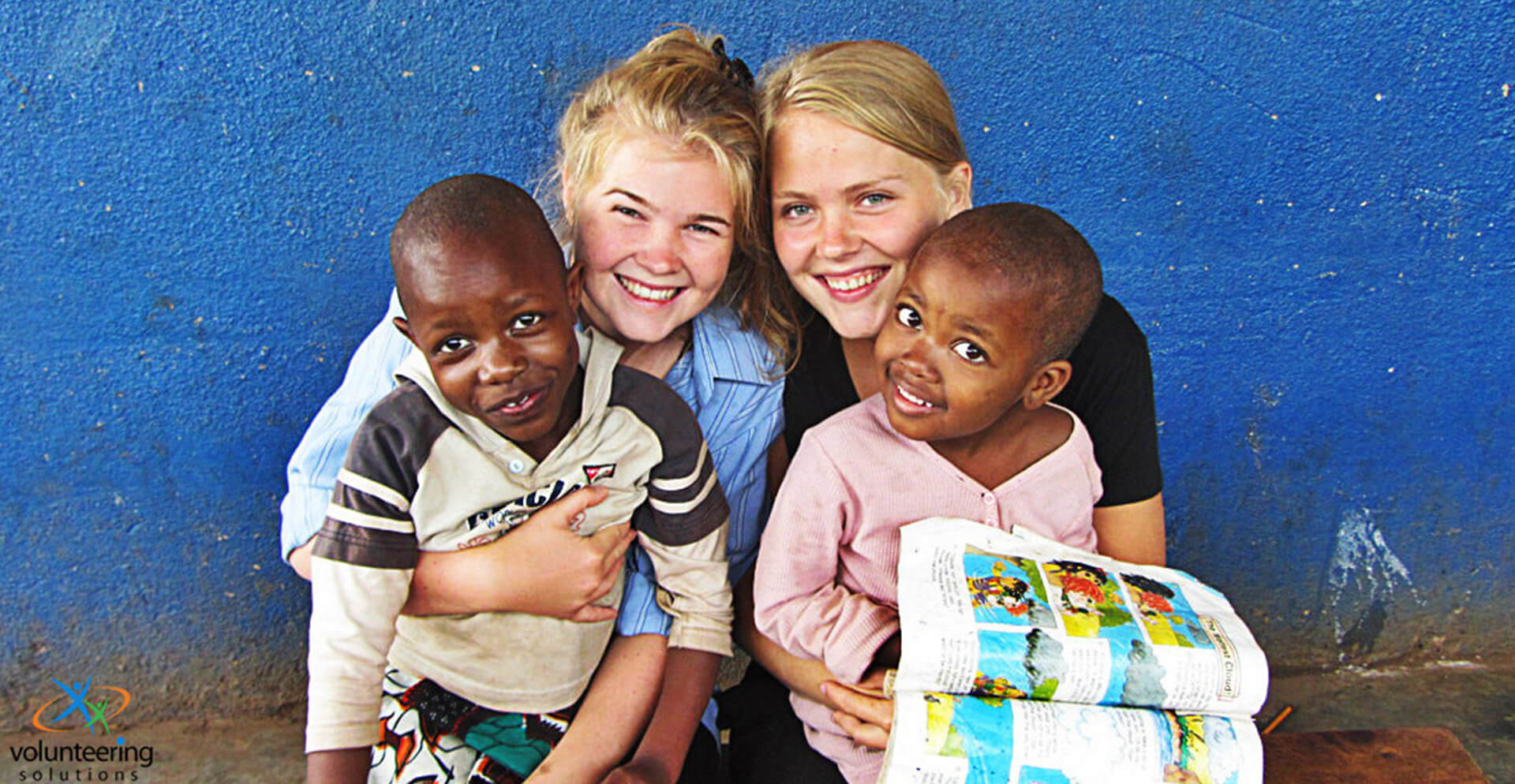 Voluntário na África com Soluções de Voluntariado