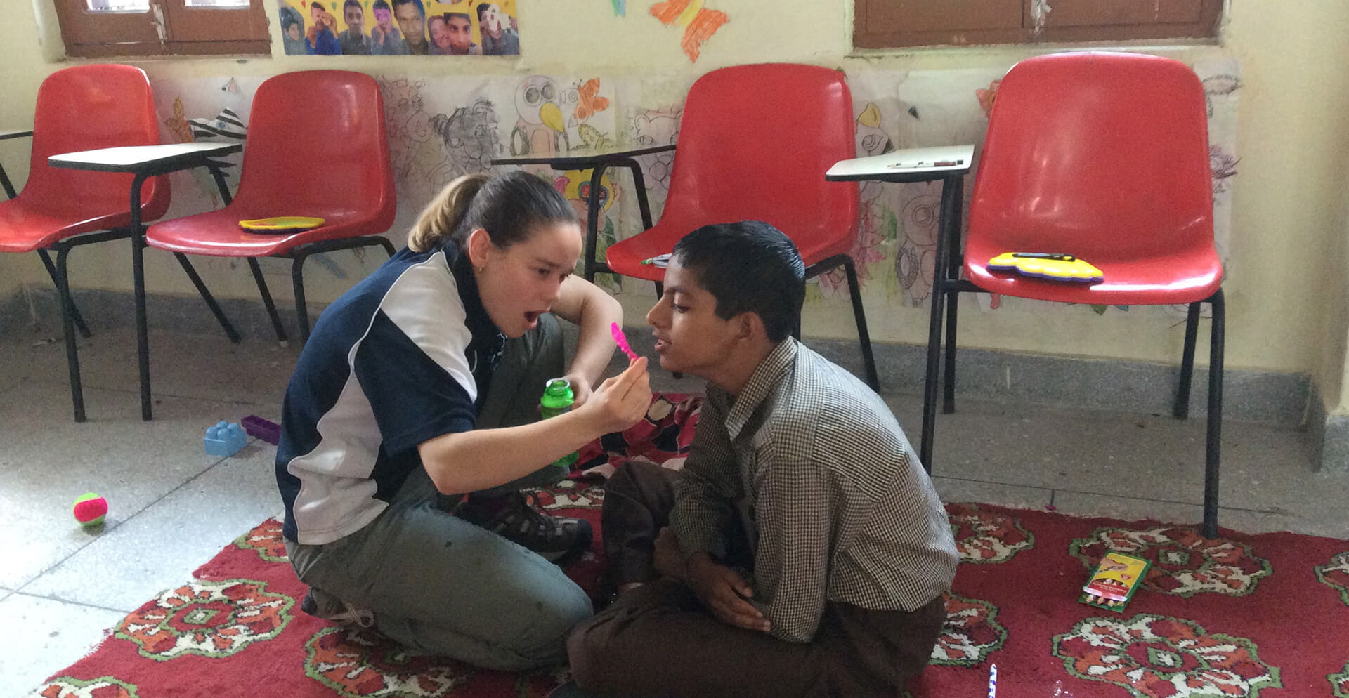 Disabled Care & Special Need Volunteer Abroad