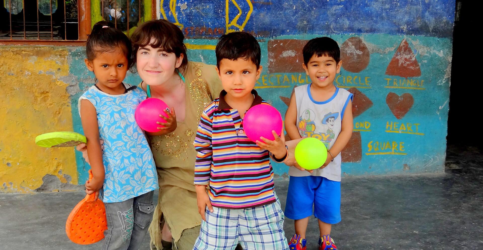 Proyectos de voluntariado infantil en el extranjero