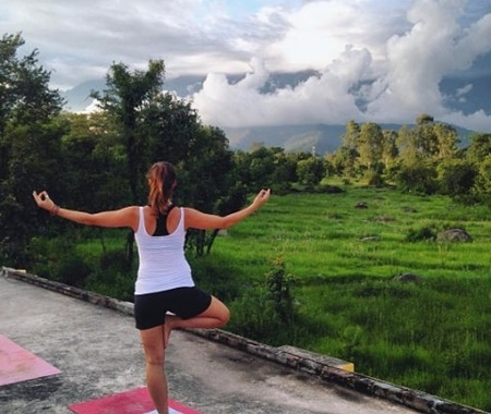 Yoga and Volunteer Adventure in the Himalayas