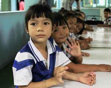 Projeto Voluntário de Jardim de Infância Bangkok Tailândia