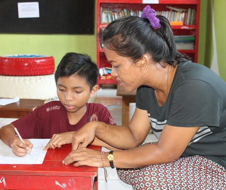 Programa de enseñanza voluntaria en Bali