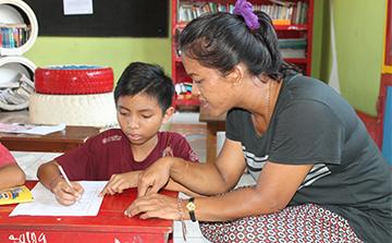 Programa de Ensino Voluntário em Bali