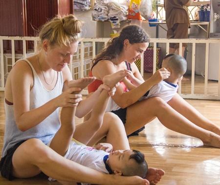 Child Care Volunteering Program in Hanoi