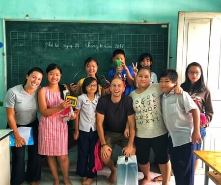 English Teaching Volunteering Program in Hanoi