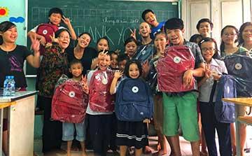 Programa de Voluntariado de Ensino de Inglês em Hanói