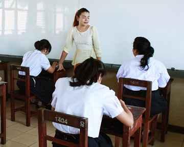 Ensino voluntário em Bangkok, Tailândia