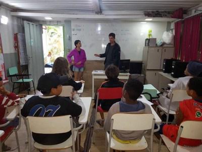 Inglés como voluntario de enseñanza en Brasil