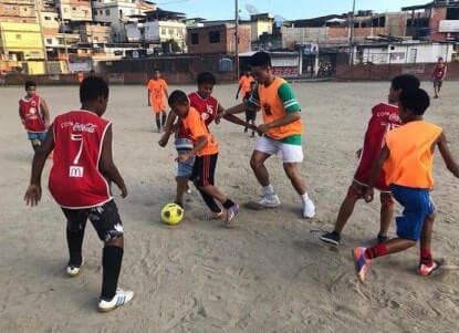 Youth Athletic Volunteer Program in Brazil