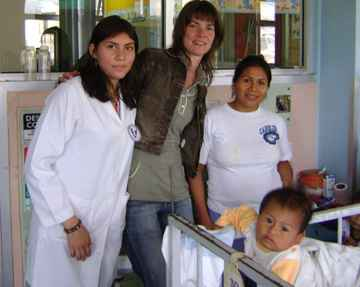 Voluntariado para crianças no Equador no Children's Hospital