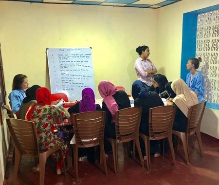 Voluntário para o Programa de Empoderamento das Mulheres