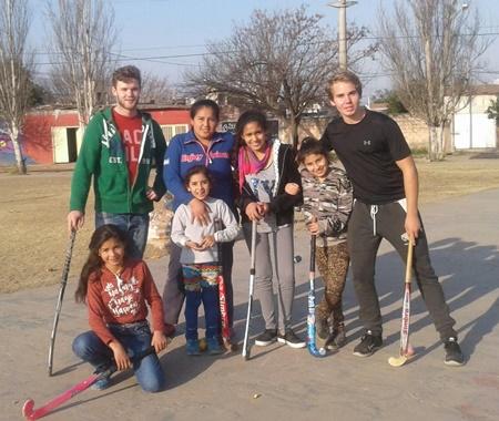Programa de Voluntariado em Coaching Esportivo na Argentina