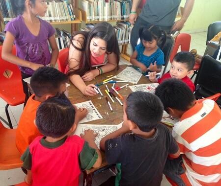 Programa de voluntariado de enseñanza de inglés