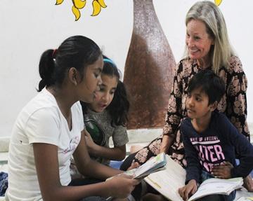 Programa de voluntariado en cuidado infantil Jaipur