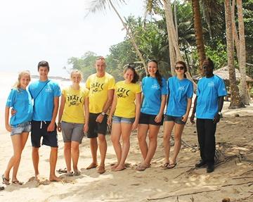 Beach Conservation Program in Ghana