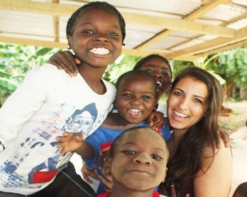 Street Children Volunteering Program in Ghana