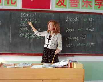 Teaching in Kindergartens & Schools Shanghai - China