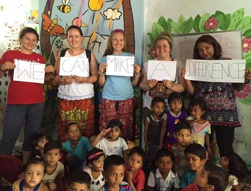 Voluntario grupal en el extranjero