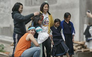 Niños de la Calle Voluntarios Programa Ecuador - Quito