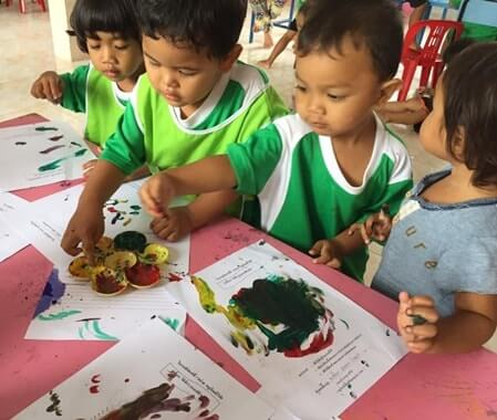 Kindergarten Volunteer Project Bangkok Thailand