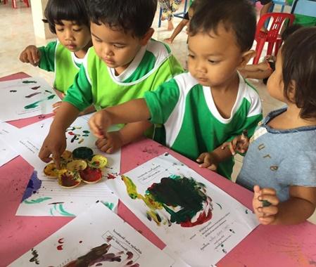Kindergarten Volunteer Project Bangkok Thailand