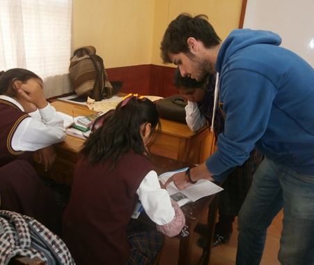 Volunteer Teaching English in Cusco, Peru