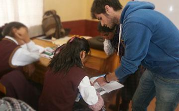 Voluntariado de enseñanza de inglés en Cusco, Perú