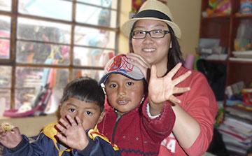 Trabajo voluntario en el Centro de Guardería en Cusco, Perú