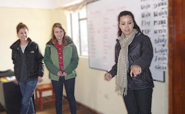 Idioma y Semana de Orientación Cusco - Perú