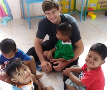 Volunteer With Children in Surin Thailand