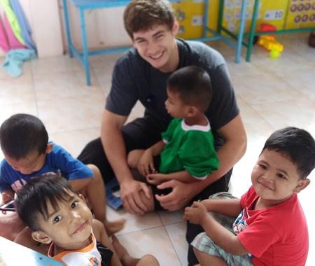 Volunteer With Children in Surin Thailand