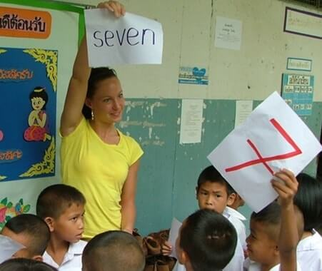 Volunteer Teaching in Surin Thailand