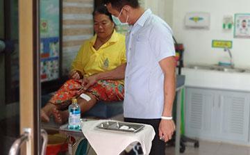 Programa de Voluntariado Médico em Surin Tailândia
