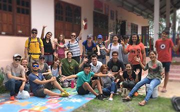 Curto Prazo Voluntour na Tailândia | Especial de 2 semanas