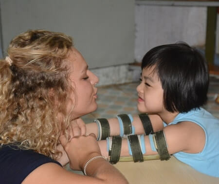 Childcare Volunteering in Vietnam