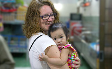 Voluntário em um Orfanato no Vietnã