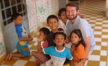 Childcare & Orphanage Volunteer in Cambodia