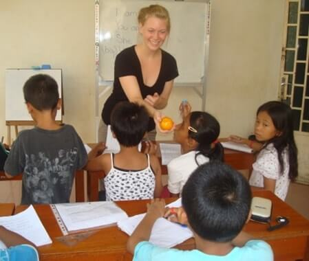 Teaching English Volunteer Program in Cambodia