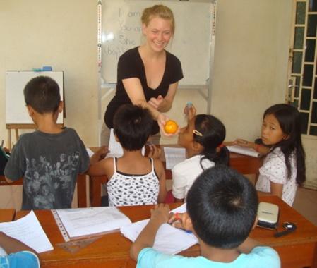 Programa de voluntariado para la enseñanza de inglés en Camboya