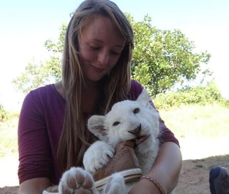 Proyectos voluntarios de vida silvestre en Sudáfrica