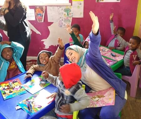 Enseñanza de Voluntarios en Sudáfrica - Ciudad del Cabo