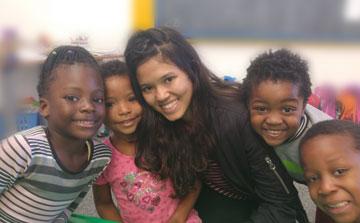 Cuidado de niños y Bienestar Social Voluntario en África del Sur