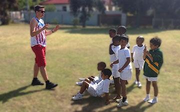 Entrenamiento de Deportes voluntarios en Sudáfrica