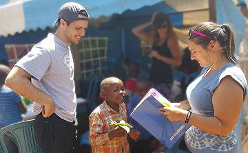 Voluntarios de la Enseñanza en Kenia