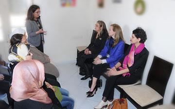 Programa de Voluntarios de capacitación de las mujeres en Marruecos